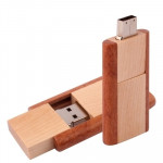 2 GB Wood Material USB Flash Disk