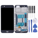 TFT Materials LCD Screen and Digitizer Full Assembly with Frame for OPPO R11(Black)