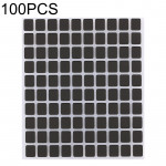 100 PCS Display Screen Black Stickers for iPhone X