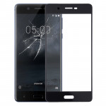 Front Screen Outer Glass Lens for Nokia 5(Black)