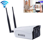 J-02130 1.3MP Dual Antenna Smart Wireless Wifi IP Camera, Support Infrared Night Vision & TF Card(64GB Max)