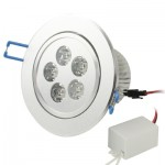 Spot LED encastrable Ampoule de 5W White Day Lanterns / vers le bas, Flux lumineux: 400-450lm - Wewoo