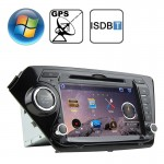 Rungrace 8.0 inch Windows CE 6.0 TFT Screen In-Dash Car DVD Player for KIA K2 with Bluetooth / GPS / RDS / ISDB-T