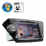 Rungrace 8.0 inch Windows CE 6.0 TFT Screen In-Dash Car DVD Player for KIA K2 with Bluetooth / GPS / RDS
