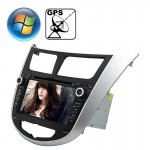 Rungrace 7.0 inch Windows CE 6.0 TFT Screen In-Dash Car DVD Player for Hyundai Verna with Bluetooth / GPS / RDS