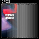10 PCS 0.26mm 9H 2.5D Tempered Glass Film for OnePlus 6