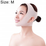 Lycra Flesh Color Breathable Skin Care And Lift Reduce Double Chin Mask Face Belt, Size: M