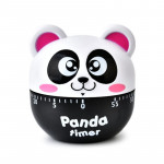 Panda 60 Minutes Mechanical Kitchen Cooking Count Down Alarm Timer Home Decorating Gadget, Random Color Delivery