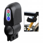 Bicycle Motion Sensor Security Alarm(Black)