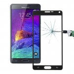 0.3mm Silk-screen Explosion-proof Full Screen Tempered Glass Film for Samsung Galaxy Note 4(Black)