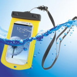 Waterproof Bag with Strap & Armband for Galaxy SIII / i9300, Yellow