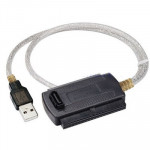 USB 2.0 to IDE & SATA Cable , US Plug, Cable Length: approx 70cm