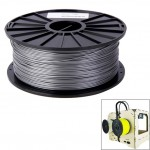 ABS 1.75 mm Color Series 3D Printer Filaments, about 395m(Silver)