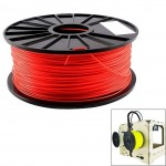 ABS 1.75 mm Fluorescent 3D Printer Filaments, about 395m(Red)