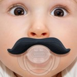 High Quality Funny Infant Mustache Baby Appease Nipple