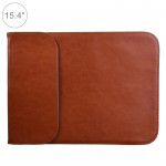15.4 inch PU + Nylon Laptop Bag Case Sleeve Notebook Carry Bag, For MacBook, Samsung, Xiaomi, Lenovo, Sony, DELL, ASUS, HP(Cowhi