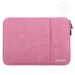 HAWEEL 11 inch Sleeve Case Zipper Briefcase Carrying Bag, For Macbook, Samsung, Lenovo, Sony, DELL Alienware, CHUWI, ASUS, HP, 11 inch and Below Laptops / Tablets(Pink)