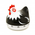 Chicken Shape 60 Minutes Mechanical Kitchen Cooking Count Down Alarm Timer Home Decorating Gadget, Random Color Delivery