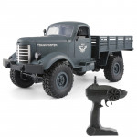 JJR/C Q61 Transporter-2 Full Body 1:16 Mini 2.4GHz RC 4WD Tracked Off-Road Military Truck Car Toy (Blue)