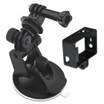 2 in 1 Suction Cup Mount + Frame Mount Set for GoPro HERO4 /3+ /3