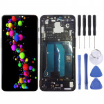 LCD Screen and Digitizer Full Assembly with Frame for OnePlus 6(Black)