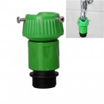 Home Garden Faucet Fast Connector Adapter (Green)