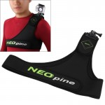 NEOpine SCM-9 NEOpine Diving Material Harness Chest Belt Single Shoulder Strap Adapter Camera Mount Stabilizer for GoPro Hero4/