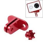TMC Lightweight CNC Aluminum Headset Mount for XiaoMi YI Sport Camera(Red)