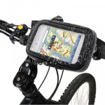 Bike Mount & Waterproof / Sand-proof / Snow-proof / Dirt-proof Tough Touch Case for iPhone 4 & 4S , Galaxy S III mini / i8190 ,G
