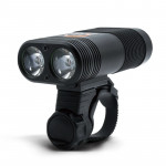Y12 Bike LED Headlight Front Lamp 2 x XPE LEDs 350LM USB Charging Bicycle Headlight with 5 Modes