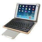 Universal Leather Case with Separable Bluetooth Keyboard and Holder for 7 inch Tablet PC(Brown)