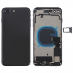 Battery Back Cover Assembly with Side Keys & Vibrator & Loud Speaker & Power Button + Volume Button Flex Cable & Card Tray for i
