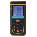 RZ-A100 1.9 inch LCD 100m Hand-held Laser Distance Meter with Level Bubble