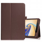 Litchi Texture Horizontal Flip Leather Case for Samsung Galaxy Tab S4 10.5 T830 / T835, with Holder (Brown)