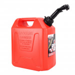 SFGT 10 01 Portable Universal Engine Square Oil Tank Car Gasoline Can, Capacity: 10L