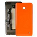 iPartsBuy for Nokia Lumia 635 Housing Battery Back Cover + Side Button(Orange)