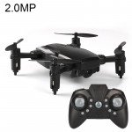 LF606 Wifi FPV Mini Quadcopter Foldable RC Drone with 2.0MP Camera & Remote Control, One Battery, Support One Key Take-off / Lan