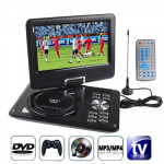 9.5 inch TFT LCD Screen Digital Multimedia Portable DVD with Card Reader & USB Port, Support TV (PAL / NTSC / SECAM) & Game Func