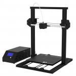 DMSCREATE DP334 360W 10-180mm/s Printing Speed 3D Printer, Support Auto-leveling / SD Card, Printing Size: 300*300*400mm