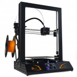 DMSCREATE DP6 360W 10-180mm/s Printing Speed 3.5 inch Touch Screen 3D Printer, Support Auto-leveling / SD Card, Printing Size: 2