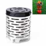 Outdoor Camping Stainless Steel Heater Cover Mini Tent Infrared Heating Stove Cover