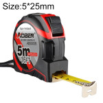 Aoben Retractable Ruler Measuring Tape Portable Pull Ruler Mini Tape Measure, Length: 5m Width: 25mm