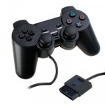 Dual Shock Wired Analog Gaming Controller for PS2(Black)