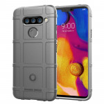 Full Coverage Shockproof TPU Case for LG V40 ThinQ (Grey)
