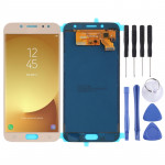 LCD Screen and Digitizer Full Assembly (TFT Material ) for Galaxy J7 (2017) / J730(Gold)