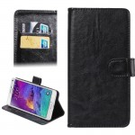 5.3-5.5 Inch Universal Crazy Horse Texture 360 Degree Rotating Carry Case with Holder & Card Slots for Samsung Galaxy Note I / I