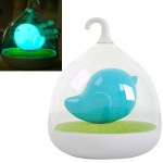 Smart Inductive Saving Light USB Rechargeable Birdcage Lamp for Camping / Adventure / Nocturnal / Children Toy(Blue)