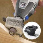 Sanding and Grinding Guide Attachment Locator Positioner for Dremel A576 Rotary Tool