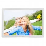 17 inch HD 1080P LED Display Multi-media Digital Photo Frame with Holder & Music & Movie Player, Support USB / SD / MS / MMC Car
