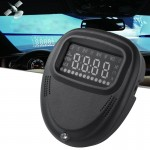 A1 2.0 inch Car GPS HUD Head Up Display Vehicle-mounted Security System, Support Speed & Real Time & Altitude & Over Speed Alarm